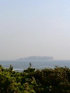 江ノ島が見えてきた♪
